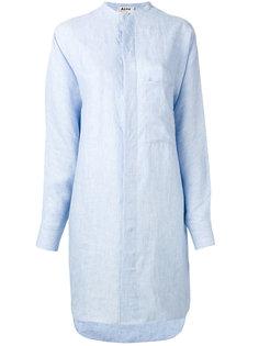платье-рубашка с узким воротником-стойкой Acne Studios