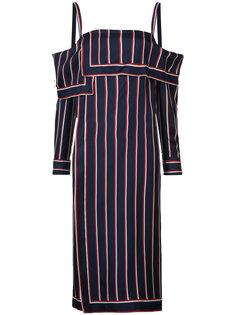 striped bardot tunic Monse