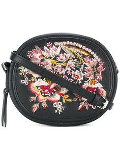 сумка через плечо с цветочной вышивкой Nº21