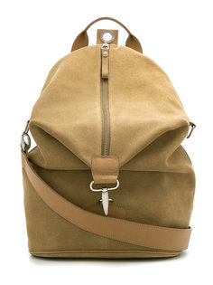 suede backpack Egrey