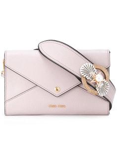 сумка-конверт на плечо Miu Miu