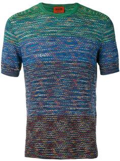 colour contrast T-shirt Missoni