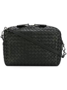сумка-мессенджер с плетеным дизайном Bottega Veneta