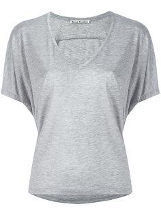футболка с V-образным вырезом Acne Studios