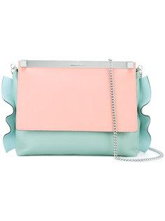 contrast shoulder bag  Manurina