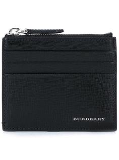 кошелек для карт с фирменной бляшкой Burberry