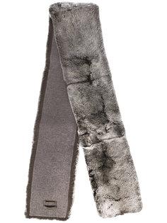 длинный меховой шарф N.Peal