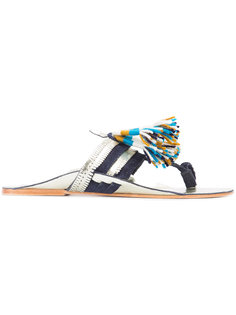 Zola sandals Figue