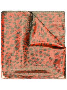 шарф с анималистичным рисунком Roberto Cavalli
