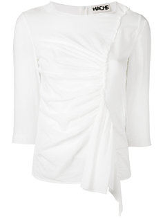 gathered front blouse  Hache