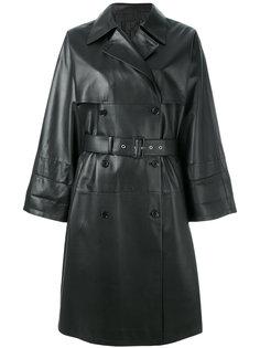 пальто на пуговицах Prada