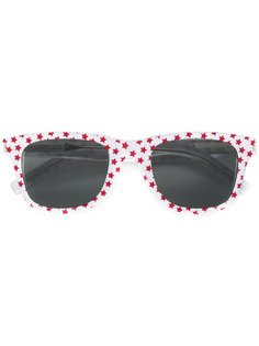 солнцезащитные очки с принтом звезд Saint Laurent