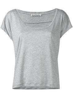 футболка с глубоким вырезом Acne Studios