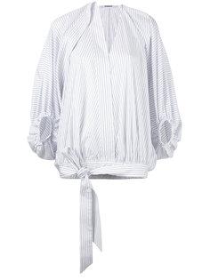 блузка с присборенными  рукавами  Chalayan