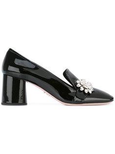 декорированные туфли Prada