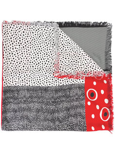 шарф с рисунками Pierre-Louis Mascia