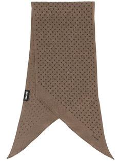 шарф с принтом кругов Tom Ford