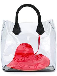 сумка-тоут с принтом сердца Vivienne Westwood