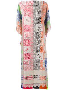patterned shift dress Pierre-Louis Mascia