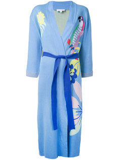 embroidered robe Mira Mikati