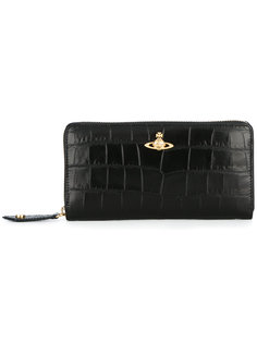 кошелек с бляшкой с логотипом  Vivienne Westwood