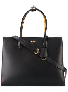 сумка-тоут с плиссированными деталями Prada
