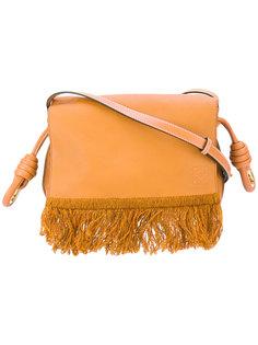 сумка на плечо с бахромой Loewe