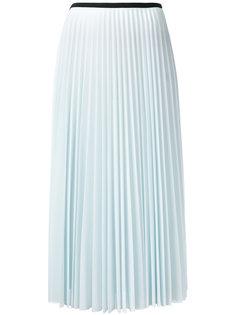 плиссированная юбка миди Céline