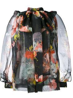 блузка Coady с цветочным узором Dries Van Noten