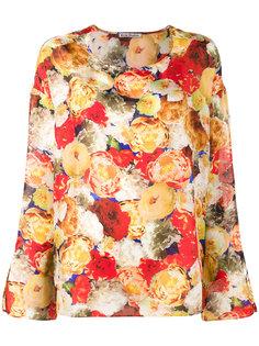 блузка с цветочным принтом Acne Studios