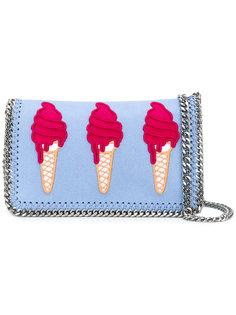 сумка на плечо с вышивкой мороженного Stella McCartney
