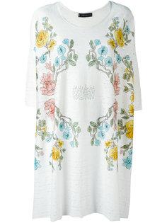 floral print T-shirt Area Di Barbara Bologna