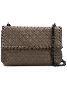 сумка-почтальонка на цепочке Bottega Veneta