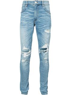 distressed regular-fit jeans Amiri