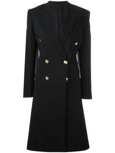 двубортное пальто  Céline