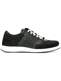текстурированные кроссовки на шнуровке Bottega Veneta