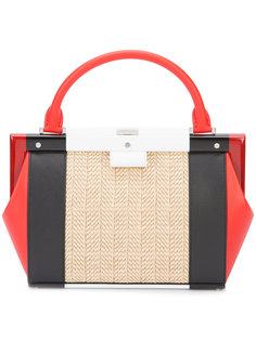 colour-block tote Perrin Paris