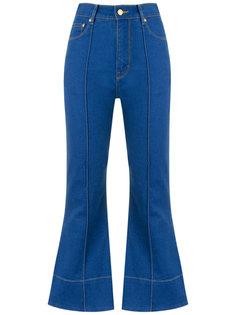crop flared jeans Amapô