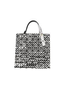 сумка-тоут с геометрическим принтом Bao Bao Issey Miyake