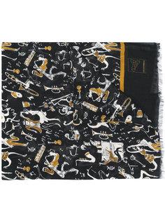 шарф jazz musicians Dolce & Gabbana