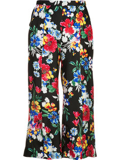 Harley floral-print cropped trousers Piamita