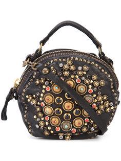 декорированная сумка на плечо Campomaggi