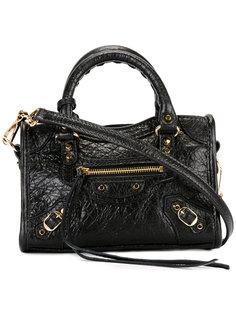 мини сумка-тоут с бахромой Balenciaga