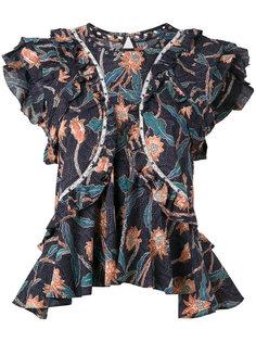 блузка с оборкой Unice Isabel Marant