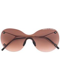 округлые солнцезащитные очки  Porsche Design