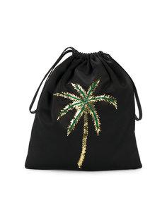 рюкзак с пальмой из пайеток Attico