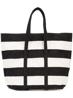 striped shopper bag Zilla