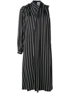 платье с драпировкой Balenciaga