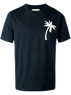 футболка с нашивкой в виде пальмы Universal Works