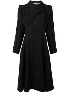 cut-out kimono sleeve dress Comme Des Garçons Vintage